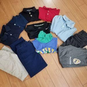 Boy bundle uniforms/regular shirts